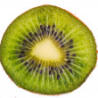 Close up of kiwi isolated — Stock Photo