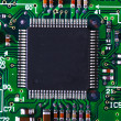 closeup of electronic circuit board — Stock Photo #2078346