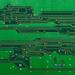closeup of electronic circuit board — Stock Photo #2078451