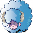 Stock Photo: Sad Sheep
