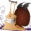 Stock Photo: Snail - Vampire