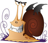 Snail - Vampire — Stock Photo