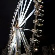 Ferris wheel at night - Stock Photo