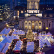 Berlin gendarmenmarkt christmas market — Stock Photo