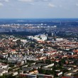 Aerial photo of berlin — Stock Photo