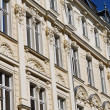 Stucco facade in germany — Stock Photo