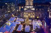 Berlin gendarmenmarkt christmas market — Stock Photo