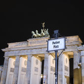 Porte de Brandebourg de Berlin — Photo
