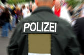 German police — Stock Photo