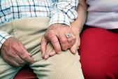 Senior couple — Stock Photo