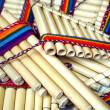 Pan pipes — Stock Photo