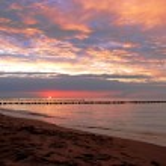 západ slunce — Stock fotografie