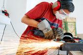 Metal worker — Stock Photo
