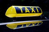 Taxi — Stock Photo