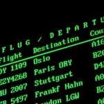 Arrival departure board — Stock Photo #2518812