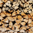 Cut firewood — Stock Photo