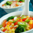 Stock Photo: Chineese sweet sour soup