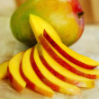 Mango slices — Stock Photo