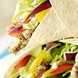 Royalty-Free Stock Photo: Chicken salad wraps