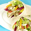 Chicken salad wraps — Stock Photo #1632919