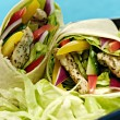 Chicken salad wraps — Stock Photo #1633029