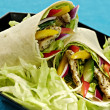 Chicken salad wraps — Stock Photo #1633069
