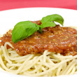 Spaghetti bolognaise — Stock Photo #1633277