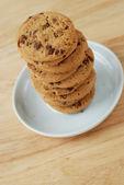 Chocolate chip cookie — Stock Photo