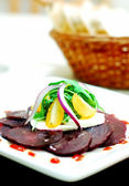 Beetroot salad — Stock Photo
