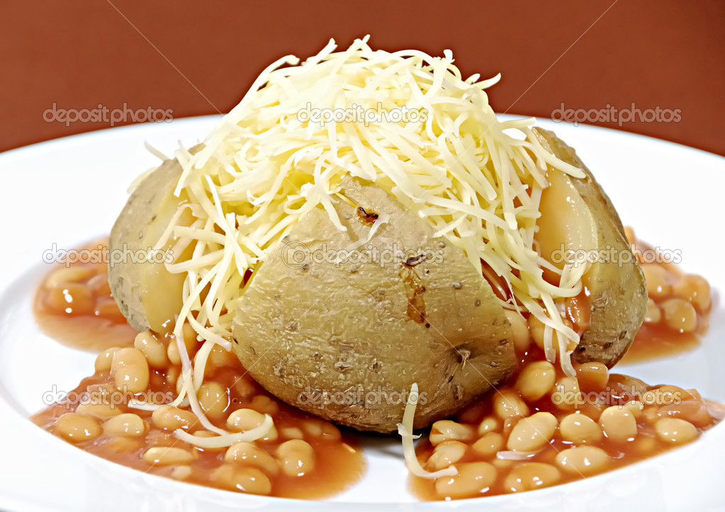 Jacket potatoe  Stock Photo #1630967