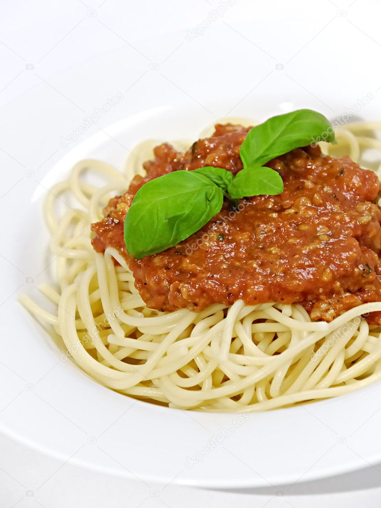 Spaghetti bolognaise — Stock Photo #1633218