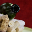 Stock Photo: Wine bottle