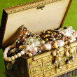 Stock Photo: Jewelry casket