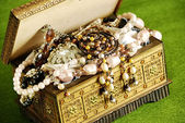 Jewelry casket — Stock Photo