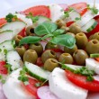 Capresse salad — Stock Photo