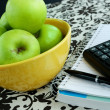 Stock Photo: Green apple