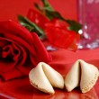 Valentine fortune cookie -  