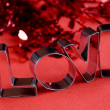 Stock Photo: Love word