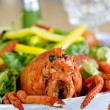 Lobster salad - Stock Photo