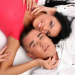 Young and attractive happy couple — Stockfoto