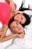 Genç ve çekici mutlu çift — Stok fotoğraf