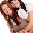 Two young and beautiful sisters — Stock Photo #1909387