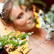 Beautiful adult woman on wedding — Stock Photo #1925852