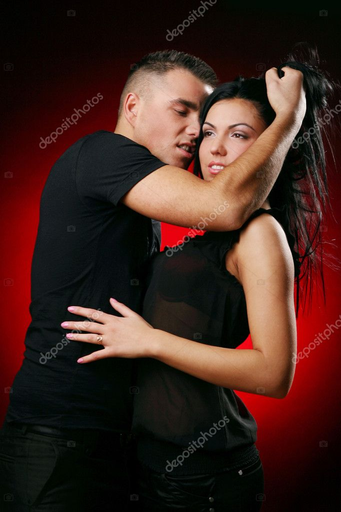 Young and attractive happy couple — Stock Photo #1925033