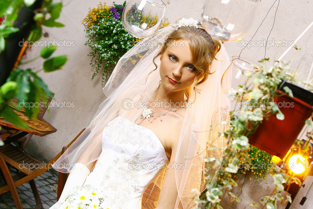 depositphotos 1925701 Beautiful adult woman on wedding A few preview images from today's photoshoot with Adult Baby Sandy.