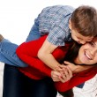 Young mother with five years son — Stock Photo #2327439