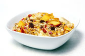 Muesli is very good for breakfast — Stock Photo