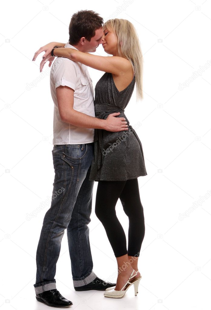 Happy young and attractive couple  Stock Photo #2593608