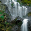 Beautiful waterfall flowing over rocks — Stock Photo #1619298