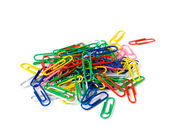Multicoloured clips. — Stock Photo